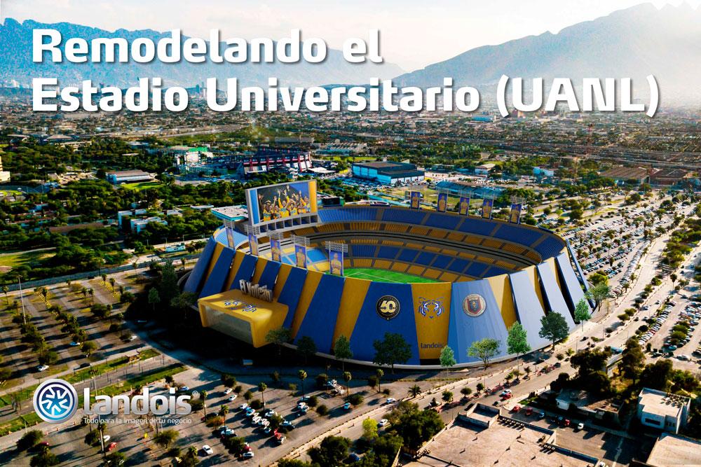 Remodelación del Estadio Universitario de Tigres, UANL